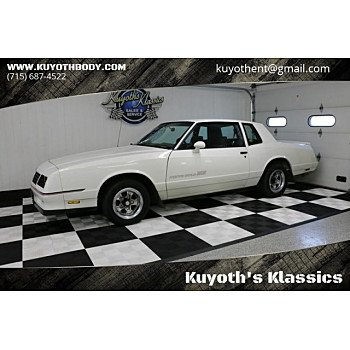1985 Chevrolet Monte Carlo SS for sale 101153301