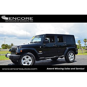 2013 Jeep Wrangler 4WD Unlimited Sahara for sale 101153536