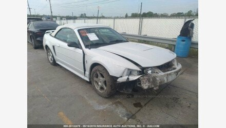2003 Ford Mustang Convertible for sale 101153706