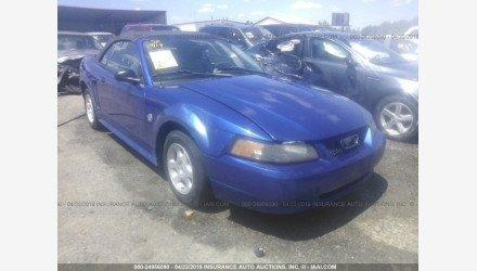 2004 Ford Mustang Convertible for sale 101153707