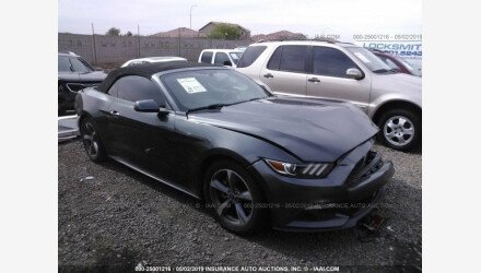 2015 Ford Mustang Convertible for sale 101153717