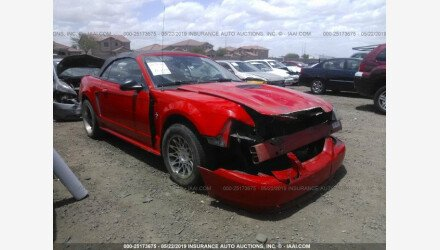 2001 Ford Mustang Convertible for sale 101153779