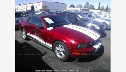 2008 Ford Mustang Convertible for sale 101153851
