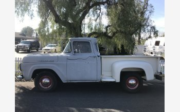 1960 Ford F100 2WD Regular Cab for sale 101154132
