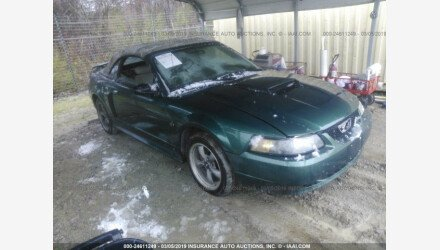 2001 Ford Mustang GT Convertible for sale 101154661