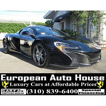 2015 McLaren 650S Spider for sale 101154758