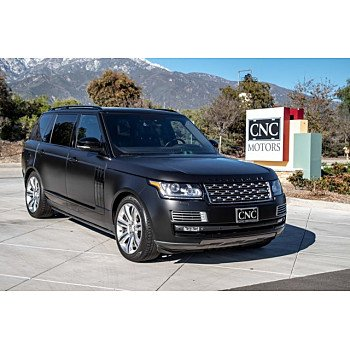 2014 Land Rover Range Rover Autobiography Black for sale 101154807