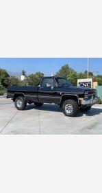 1985 Chevrolet C/K Truck 4x4 Regular Cab 2500 for sale 101154885