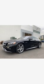 2016 Mercedes-Benz S63 AMG 4MATIC Coupe for sale 101154900