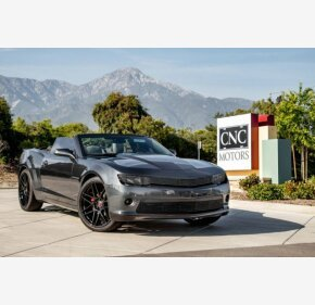 2015 Chevrolet Camaro LT Convertible for sale 101155006