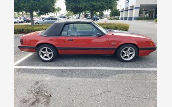 1984 Ford Mustang GLX V8 Convertible for sale 101155228