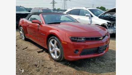 2015 Chevrolet Camaro LT Convertible for sale 101155432