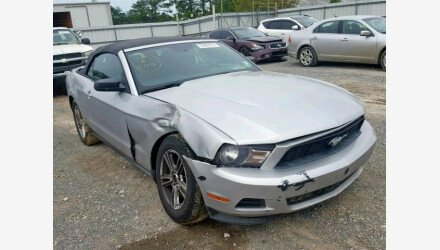 2012 Ford Mustang Convertible for sale 101155472