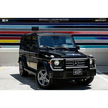 2016 Mercedes-Benz G550 for sale 101155694
