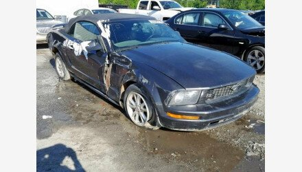 2007 Ford Mustang Convertible for sale 101156055