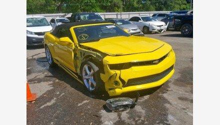 2015 Chevrolet Camaro LT Convertible for sale 101156190