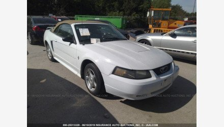 2003 Ford Mustang Convertible for sale 101156237