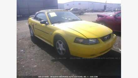 2004 Ford Mustang Convertible for sale 101156279