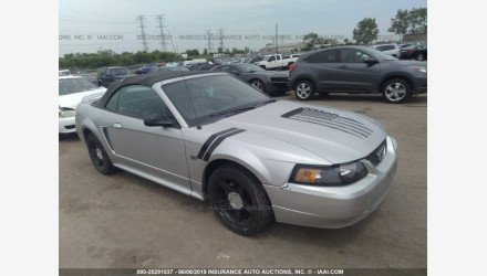 2000 Ford Mustang GT Convertible for sale 101156281