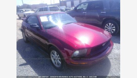 2007 Ford Mustang Convertible for sale 101156322