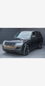2018 Land Rover Range Rover for sale 101156405