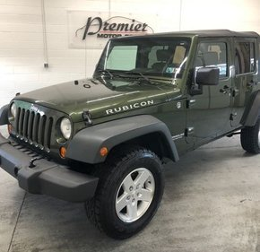 2007 Jeep Wrangler 4WD Unlimited Rubicon for sale 101156484