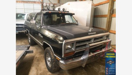 1988 Dodge Ramcharger 4WD for sale 101156517