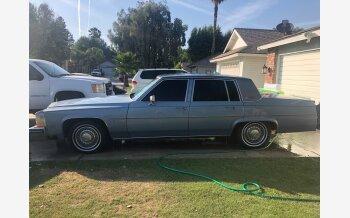1983 Cadillac De Ville Sedan for sale 101156622