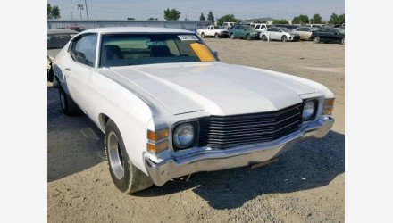 1972 Chevrolet Chevelle for sale 101156746