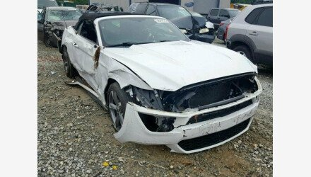 2015 Ford Mustang Convertible for sale 101156780