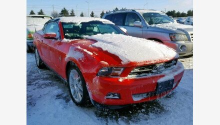 2012 Ford Mustang Convertible for sale 101156835