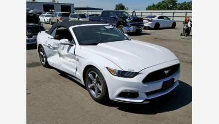 2015 Ford Mustang Convertible for sale 101157466
