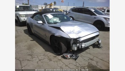 2015 Ford Mustang Convertible for sale 101157539
