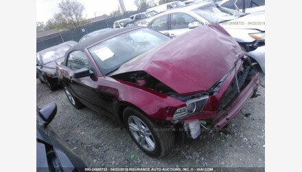 2014 Ford Mustang Convertible for sale 101157585
