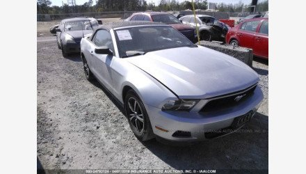2012 Ford Mustang Convertible for sale 101157587