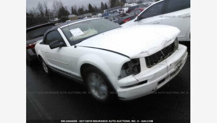 2007 Ford Mustang Convertible for sale 101157667