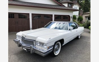 1973 Cadillac De Ville Coupe for sale 101157923