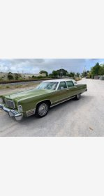 1975 Lincoln Continental for sale 101157955