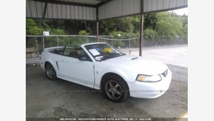 2000 Ford Mustang Convertible for sale 101158106