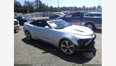 2017 Chevrolet Camaro SS Convertible for sale 101158114