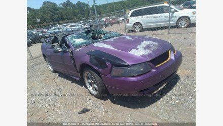 2003 Ford Mustang Convertible for sale 101158143