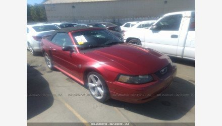 2004 Ford Mustang Convertible for sale 101158186