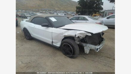 2012 Ford Mustang Convertible for sale 101158210