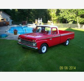 1965 Ford F100 2WD Regular Cab for sale 101158437