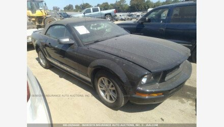 2008 Ford Mustang Convertible for sale 101158803