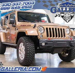 2015 Jeep Wrangler 4WD Unlimited Rubicon for sale 101159575