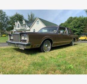 1980 Lincoln Continental Classics For Sale Classics On Autotrader
