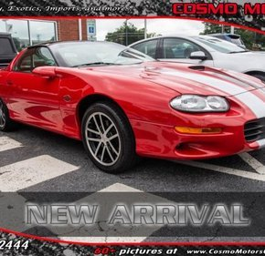 2002 Chevrolet Camaro Z28 Coupe for sale 101159726