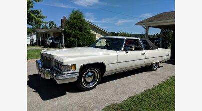 1975 Cadillac De Ville for sale 101159773