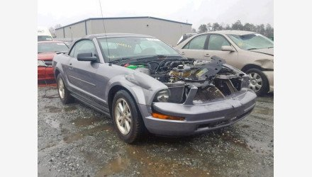 2007 Ford Mustang Convertible for sale 101160011